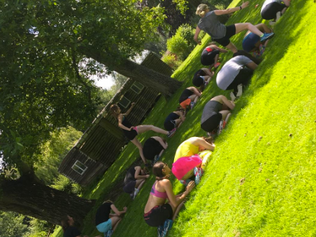 Hen Party Bootcamp in Oxfordshire