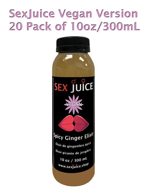 Vegan Version 20 Pack of 10oz/300mL SexJuice