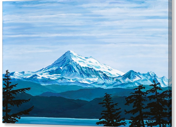 "PVG Mt Baker 30""x30"" or 24""x36"""