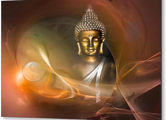 """CB Budha Ying & Yang 24""""x36"""" or 30""""x30"""""""