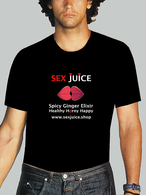 SexJuice T Shirt Male Black