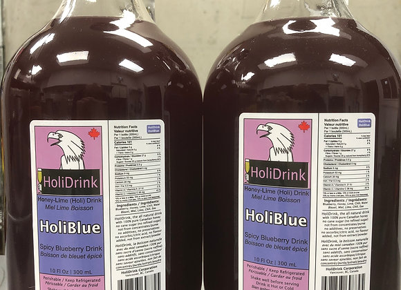 2 pack of half gallon HoliBlue Spicy Blueberry