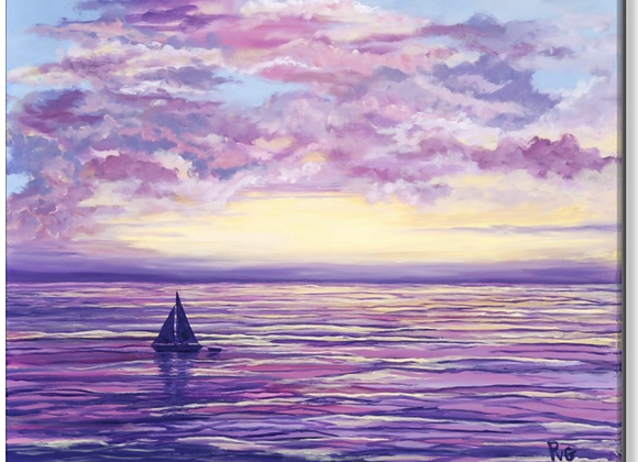 """PVG Heading Home 30""""x30"""" or """"24""""x36"""""""