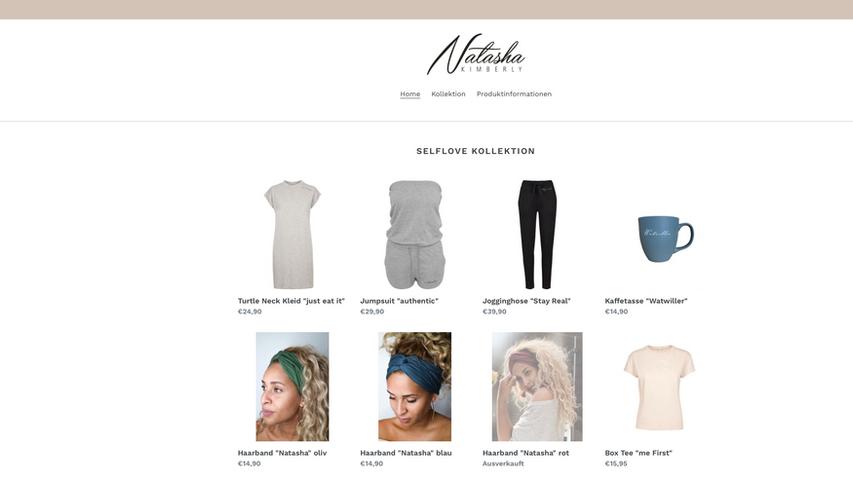 Natasha Kimberly Shop