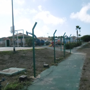 esso-heights-fence-after-removal-sam_1
