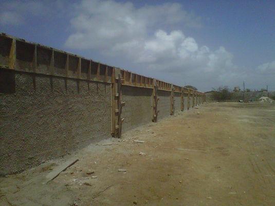 Refinery wall inside Carnival Village