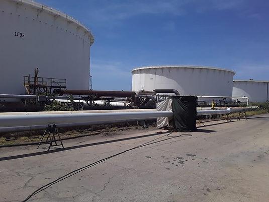 Refinery Diesel Line at Tank 1003