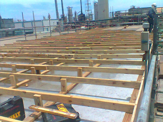 Refinery H1/H2 Substation Roof