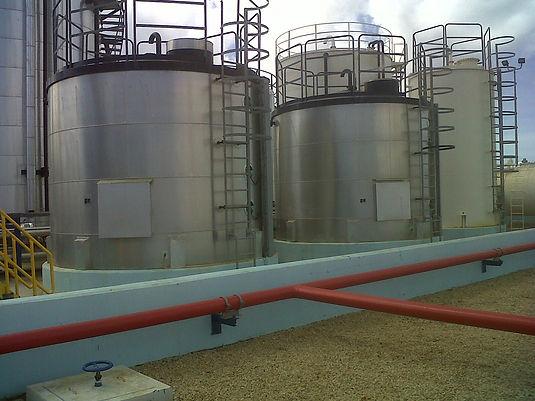 W.E.B. Oily Water Buffer Tank