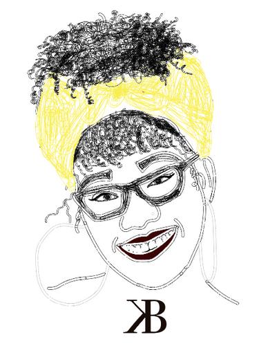 "Sketch of ""Black in Detroit"""