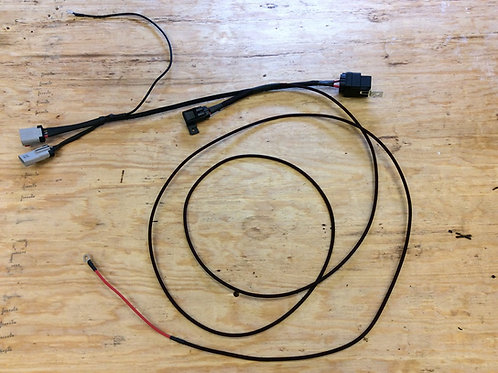 Single fuel pump rewire