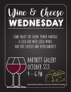 Wine and Cheese Wednesday 10/23