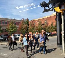 sage students visit buffalo!