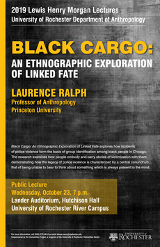 Talk 10/23 : Black Cargo - An Ethnographic Exploration of Linked Fate