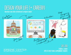 Attention first-years and sophomores! Course offering: Design Your Life (+Career)