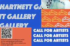 Call for Artists for Harnett Gallery's Undergraduate Juried Show