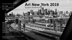 Art New York 2019 Student Exhibition is coming to Frontispace! Please join us for the reception on S