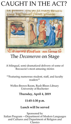 4/4 : The Decameron on Stage!
