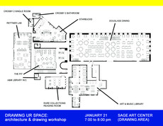 tonight @ sage 7pm-8pm: drawing ur space – an architecture and drawing workshop by pedro piñera