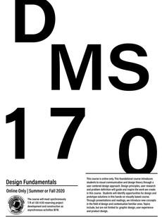 Course Offering: Design Fundamentals