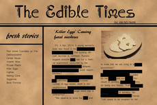 edible times, by mengting zhang