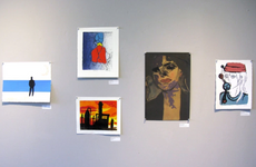 reception tomorrow (3/29) in asis gallery