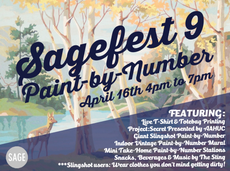 sagefest 9: paint-by-number! thursday, 4/16 from 4pm-7pm