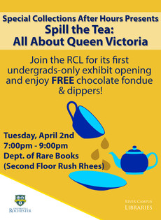 4/2 : Spill the Tea : All About Queen Victoria