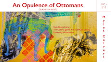 Myles Calvert, An Opulence of Ottomans (ab·bre·vi·at·ed) SHOWING AT the Gallery @ the Art and Music