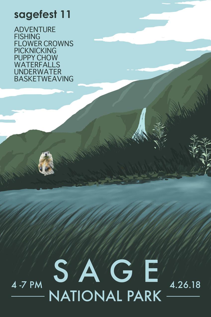 Sage National Park Poster 3