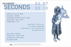 Today! Join us for the opening reception of SECONDS by Jim Arendt at Harnett! The artist will discus
