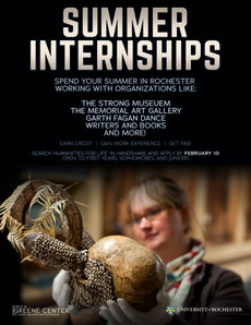 Humanities for Life Paid Summer Internships! Apply today! Deadline 2/10