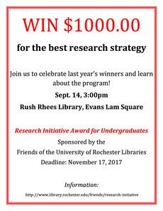 research initiative award