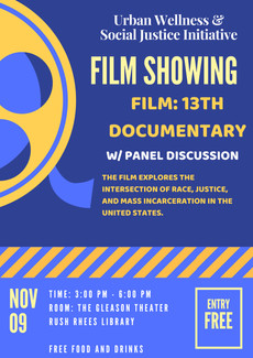 Film Showing November 9 @ the Gleason Theater