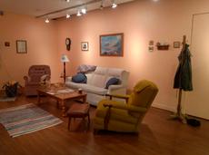 also…today 6-8pm!! search for secrets at amanda budreau's art reception!!!