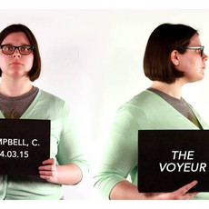 """first of the senior thesis exhibitions: chelsea campbell's """"the voyeur"""" opens tonight, 6-9pm"""