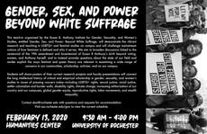 Talk 2/13: Gender, Sex, and Power Beyond White Suffrage