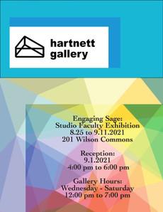 Faculty Exhibition at Hartnett Gallery