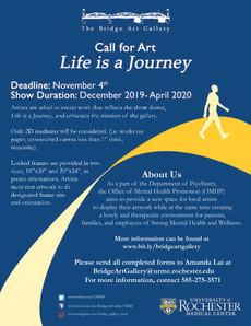 Call for Art - Share your work at The Bridge Art Gallery! Deadline November 4.