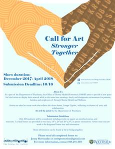 call for art - bridge art gallery
