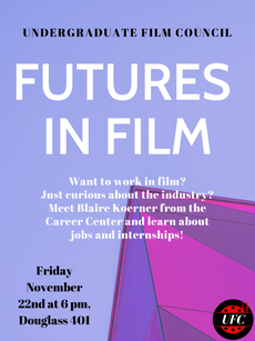 Talk 11/22 : Futures in Film