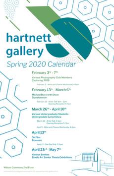 Harnett Gallery Calendar 2020