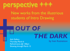 today at 1pm: perspective +++, out of the dark openings