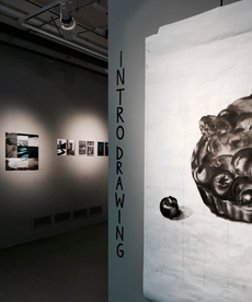 closing reception tonight in asis, 4pm-5pm: advanced photography and intro drawing