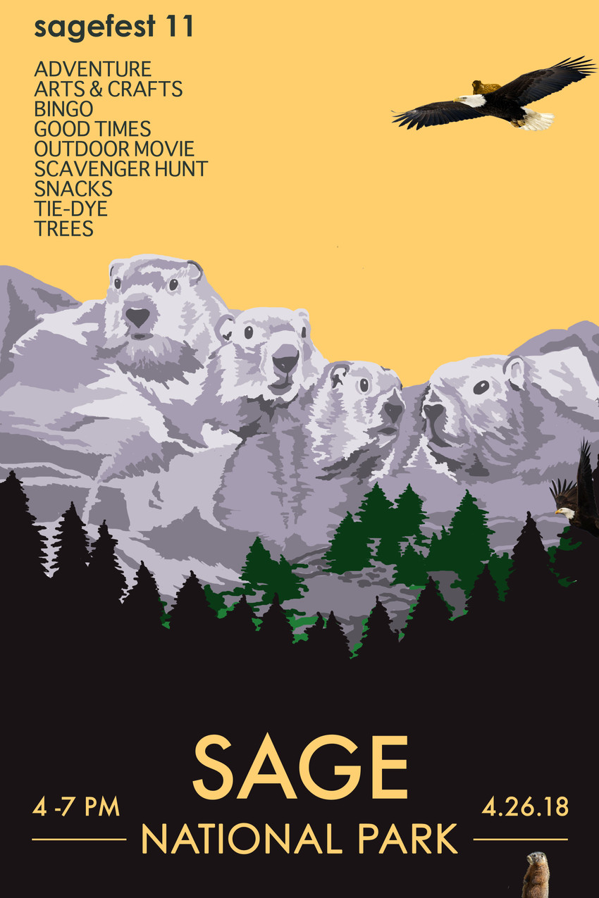Sage National Park Poster 1
