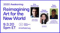 Virtual Event: Reimagining Art for the New World