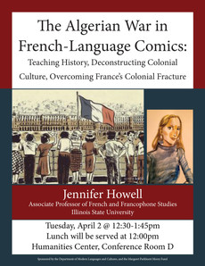 Talk 4/2 : The Algerian War in French-Language Comics
