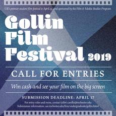 It's that time again! Enter the Gollin Film Festival 2019! Deadline 4/17