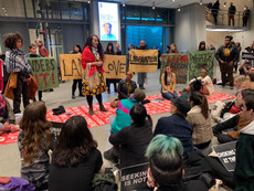 UR alum and leader of Decolonize This Place, Marz Saffore, organizes protest at The Whitney