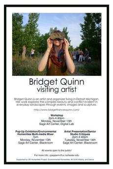 Visiting Artist: Bridget Quinn